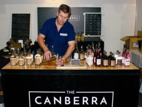 Master Distiller talk at Canberra Distillery