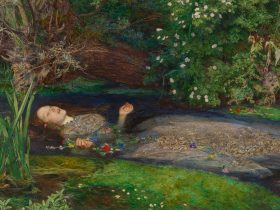 John Everett Millais Ophelia (detail) 1851-82 Image courtesy Tate Britain