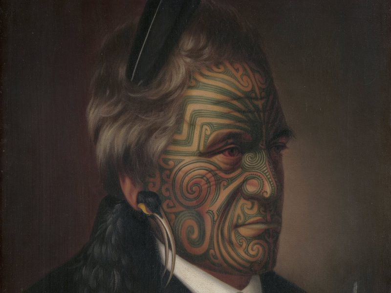 Gottfried Lindauer Tomika Te Mutu, chief of the Ngaiterangi tribe, Bay of Plenty 1880 Rex Nan Kivell