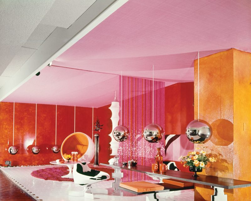 'A room for Mary Quant', display room designed by Marion Best