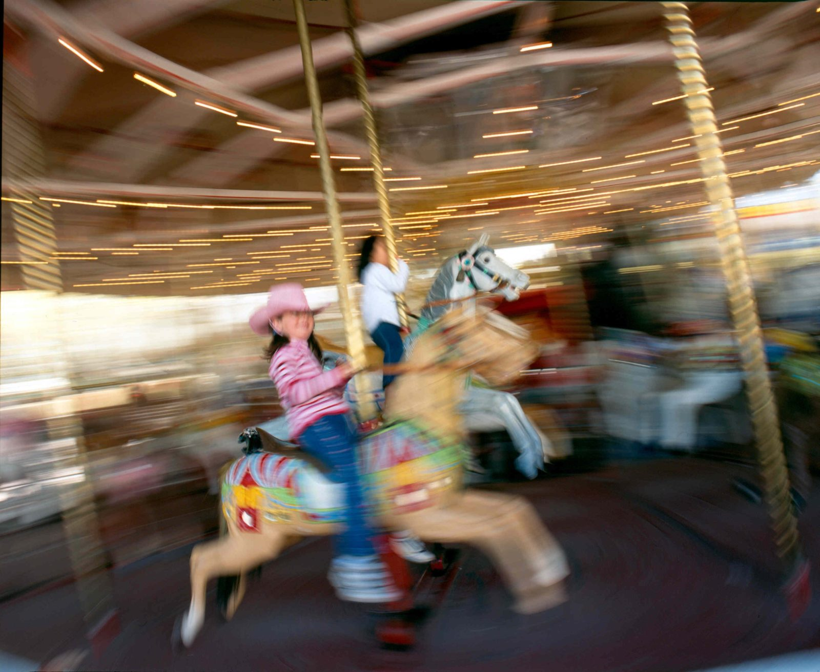 Riding the merry-go-round