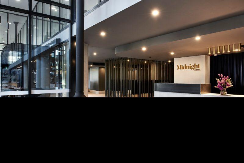 Midnight Hotel Lobby