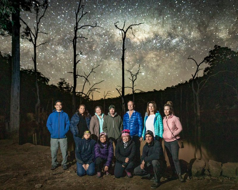 Group photo at the end of the workshop held at Kangaroo Valley