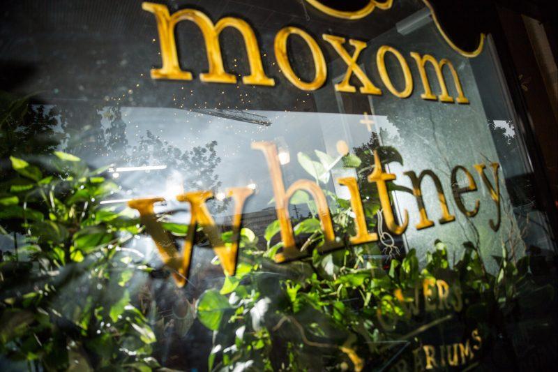 Moxom + Whitney front window