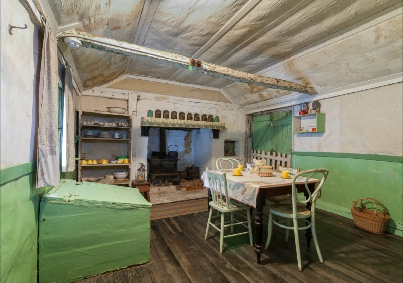 Inside the historic Mugga-Mugga cottage