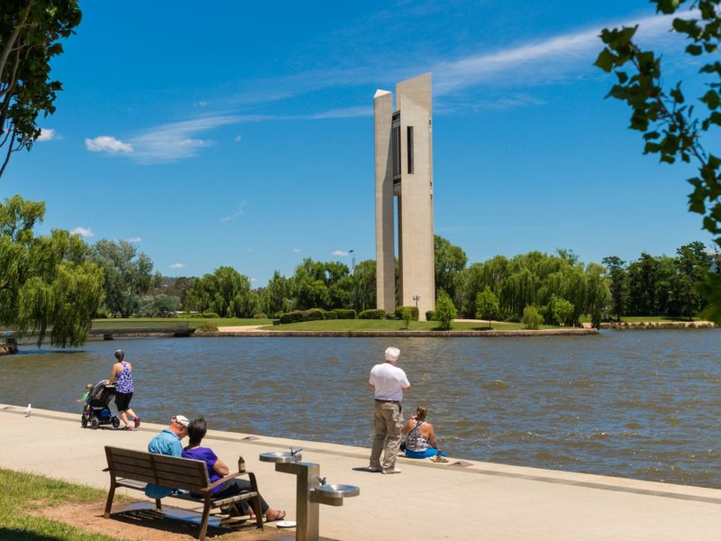 National Carillon and Lake Burley Griffin