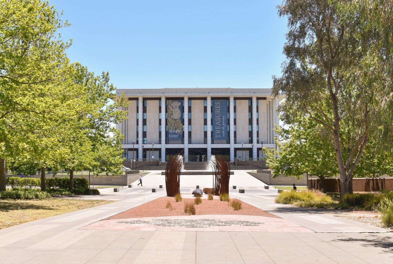 National Library of Australia building, Canberra