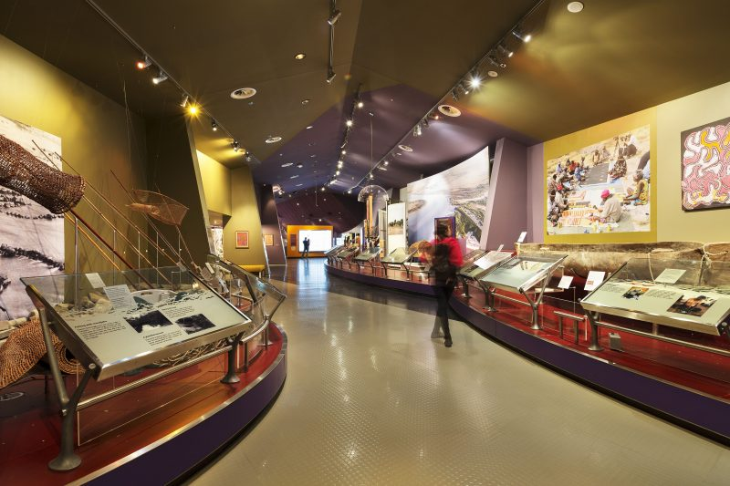 First Australians Gallery at the National Museum of Australia, Canberra.