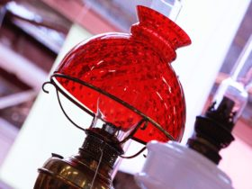 Collectable Lamp from Old Bus Depot Markets