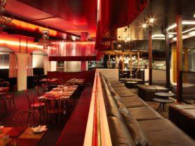 Restaurant and lounge interior