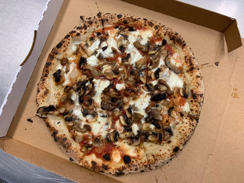 Wood Fired Neapolitan Pizza - Funghi Pizza