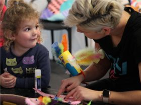 Get crafty daily from 10.30am to 12.30pm