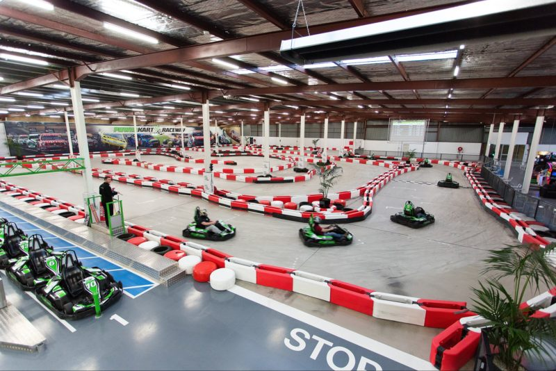 View of the Power Kart Track