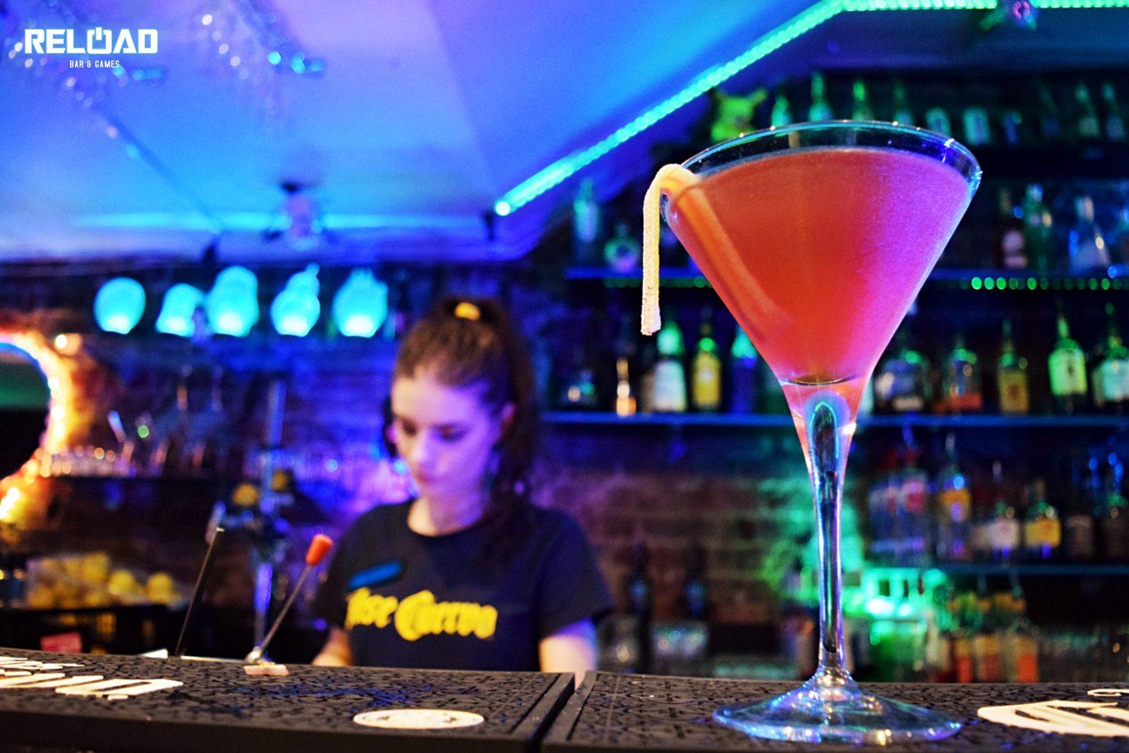 Reload Bar & Games Cocktails
