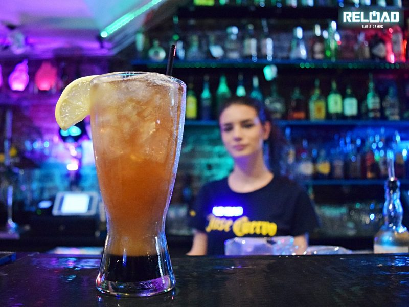 Reload Bar-Chun Li Iced Tea