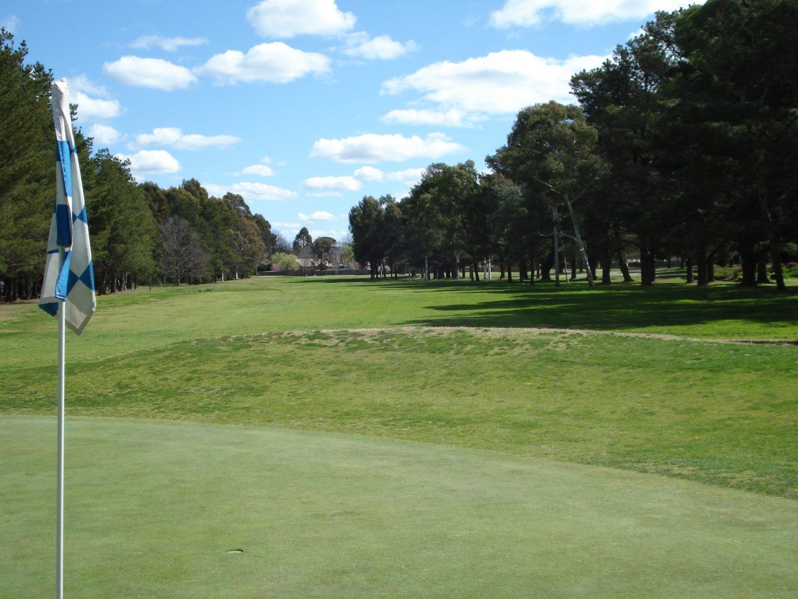 A fairway at RMC Golf Club