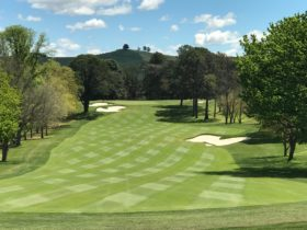 10th Hole at Royal Canberra Golf Club