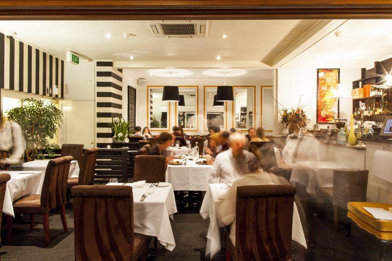 Sage restaurant interior
