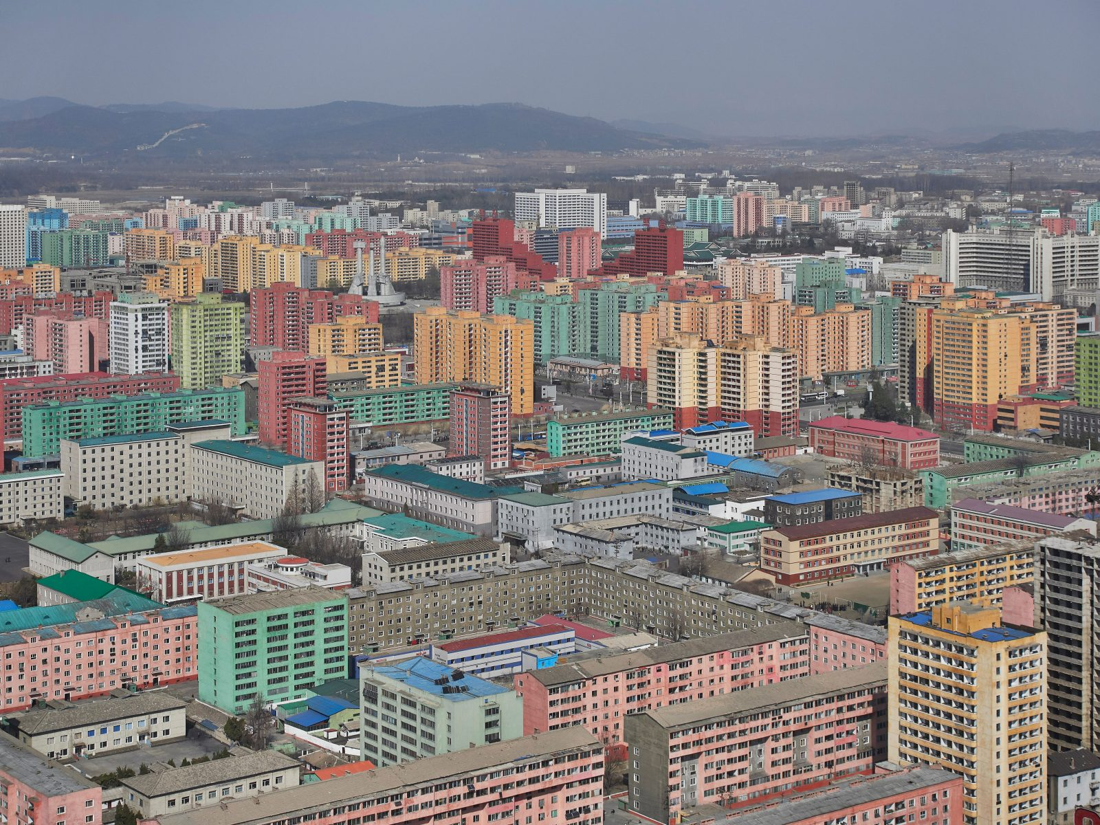 Scenes from the People's Paradise – Pyongyang