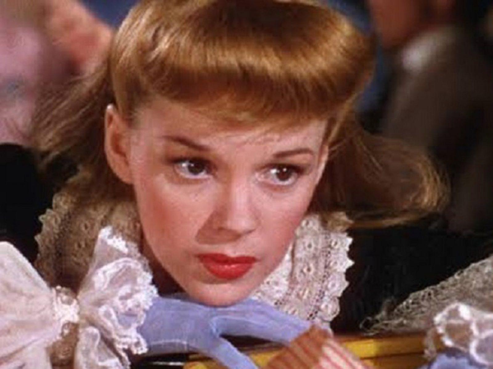 Close up of Judy Garland