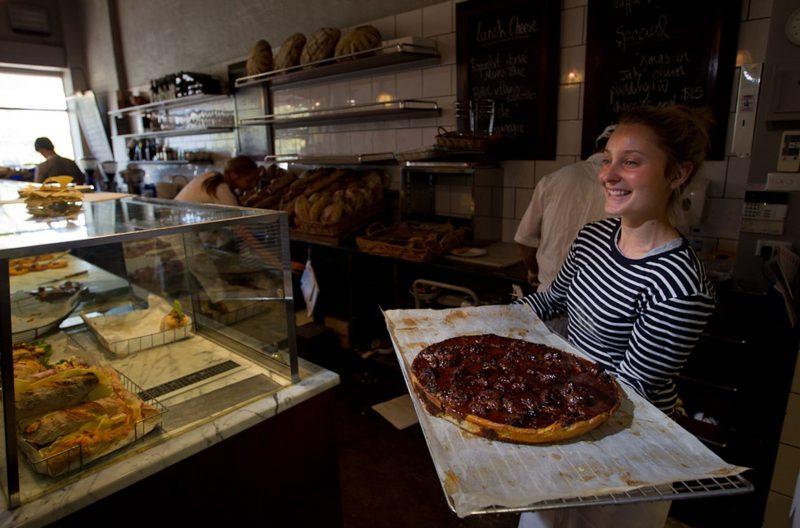 Freshly baked goods at Silo Bakery in Kingston, Canberra