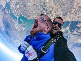 Canberra tandem skydive