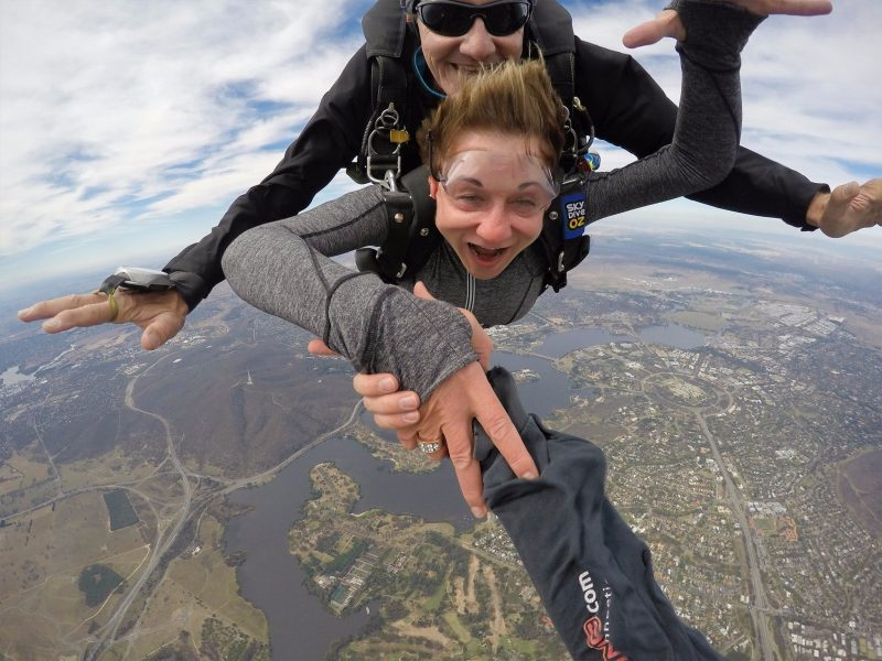 Skydiving Canberra ACT Australia