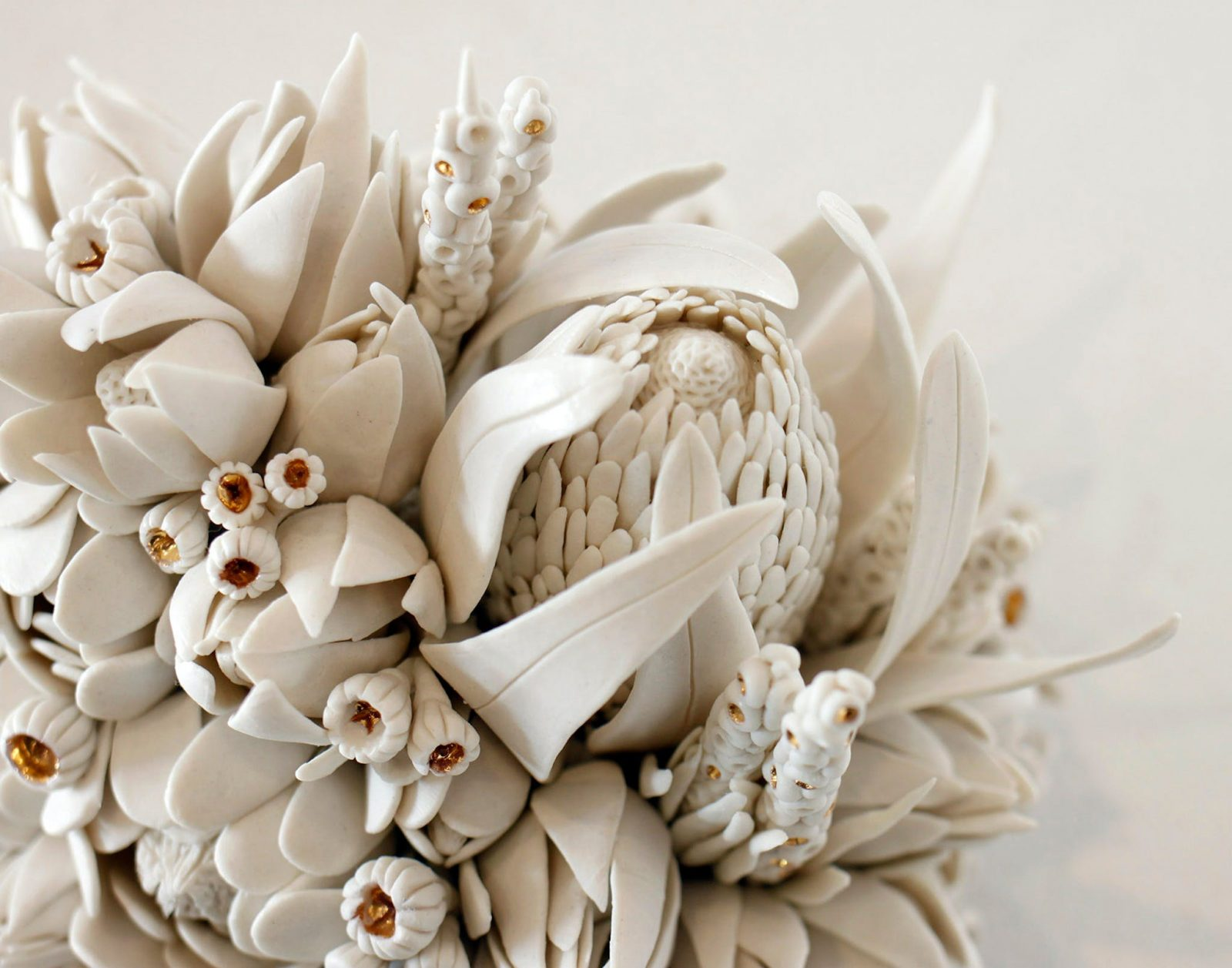 Botanical Gatherings No. 5, Hand built porcelain by Amy Hick