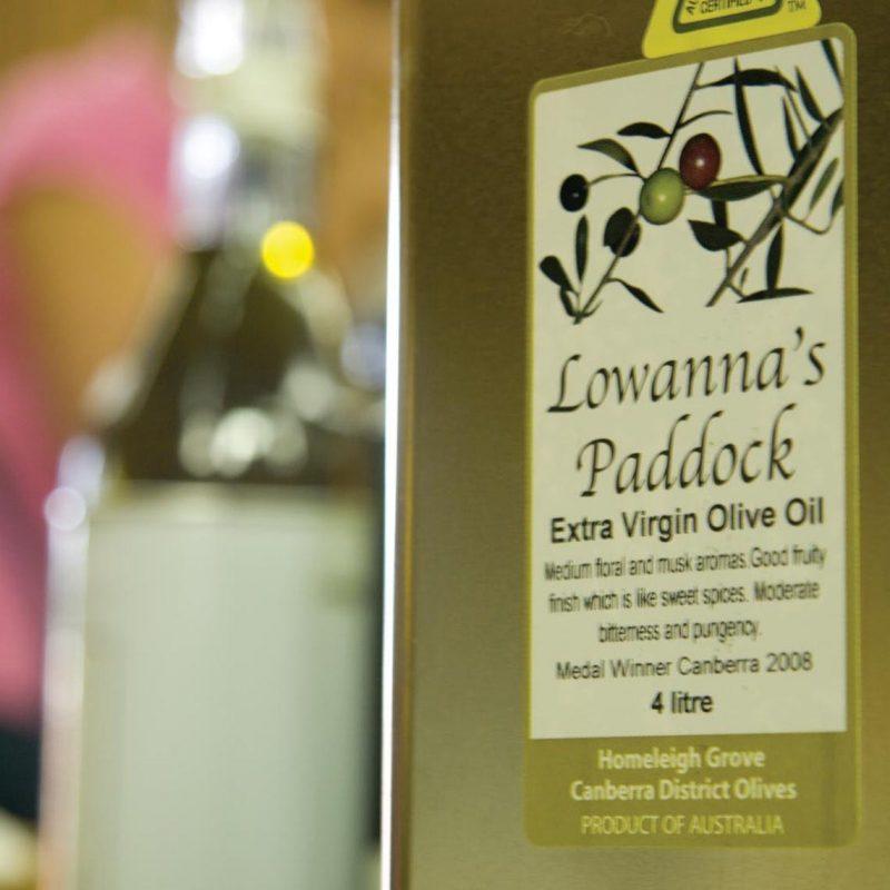 Lowanna's Paddock extra virgin olive oil