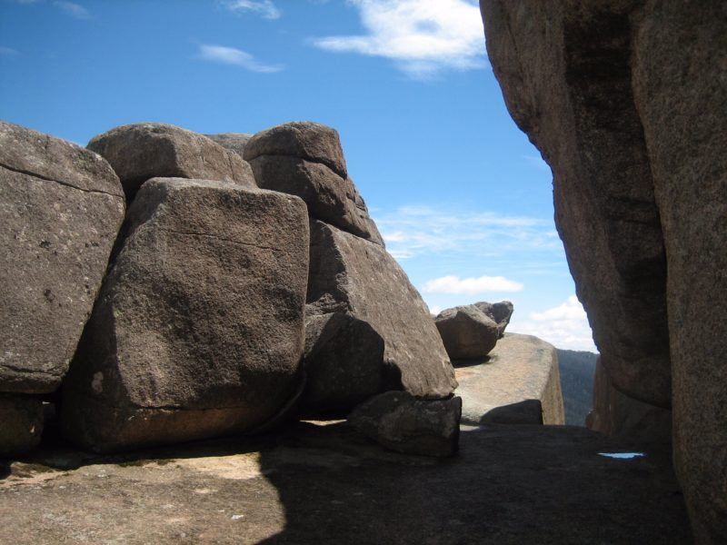 Large boulders at Square Rock