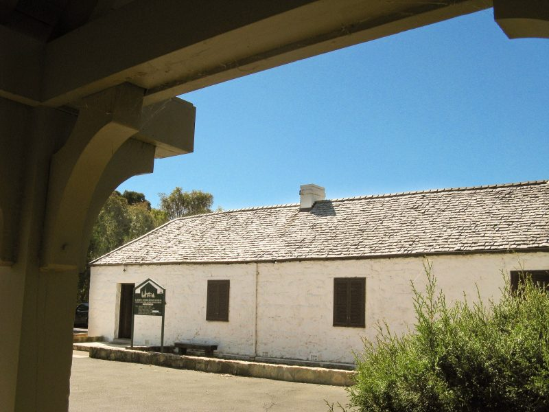 St John's Schoolhouse Museum exterior