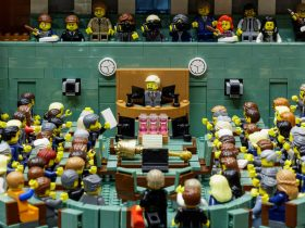 Lego House of Representatives Chamber