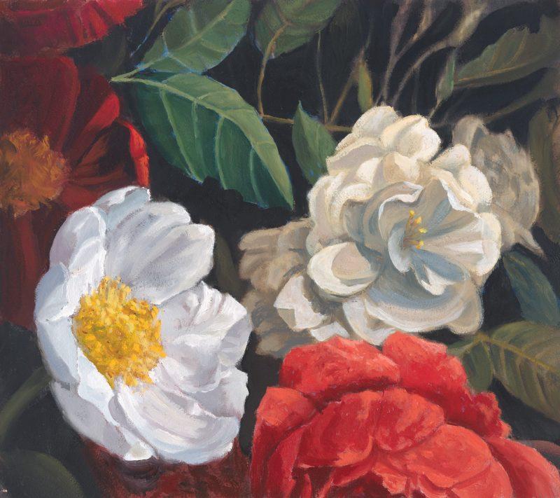 Peony Rose Gardenia by Roger Beale