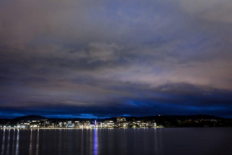 Views of Kingston at night