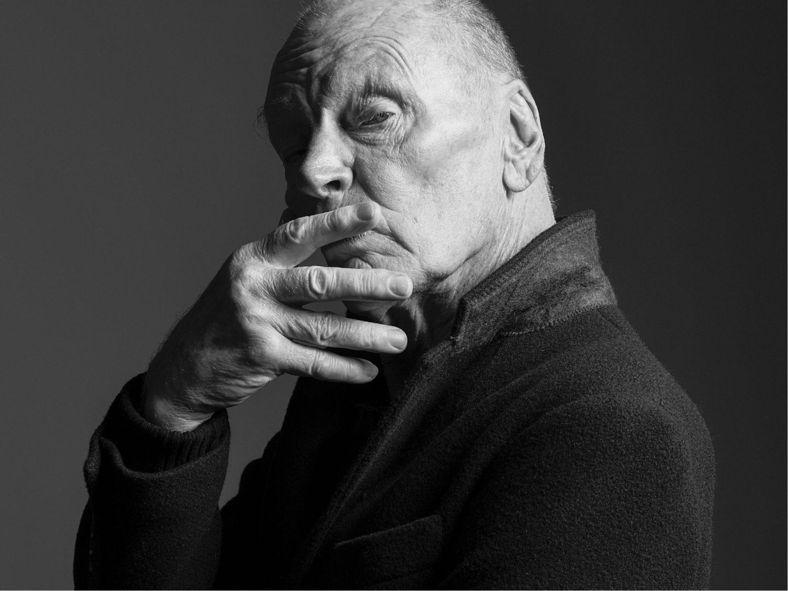 John Bell in The Miser. Presented by Bell Shakespeare in 2019.