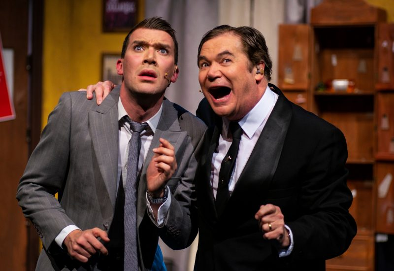 Daryl Somers and Jason Bensen as Max and Leo