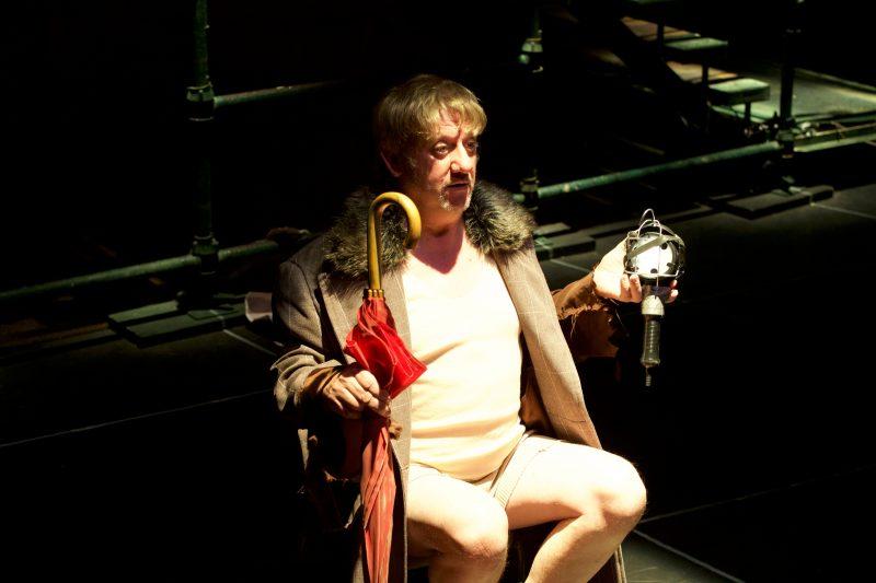 Diary of a Madman 2018 PJ Williams stars as Gogol's hero Poprischin