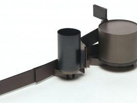 Mark Edgoose, Rail and Vessel No.1, 2011, Titanium and Niobium. Photo: Courtesy of the artist.