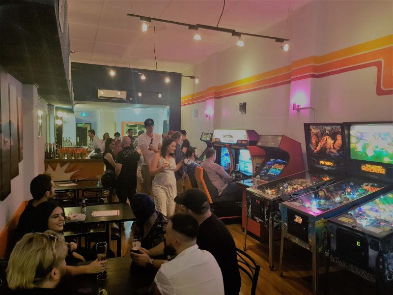 Retro Arcades, Tap beers, Kitchen by Soul Cartel
