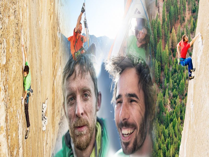 Tommy Caldwell and Kevin Jorgeson Live on Stage - Canberra