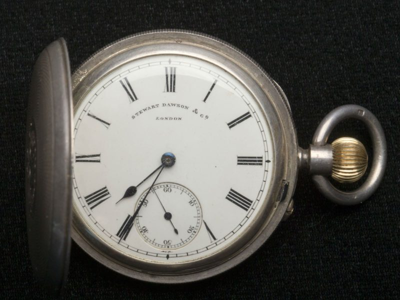Fob watch belonging to Henry Lawson