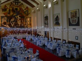 Great Hall dressed for a special occasion