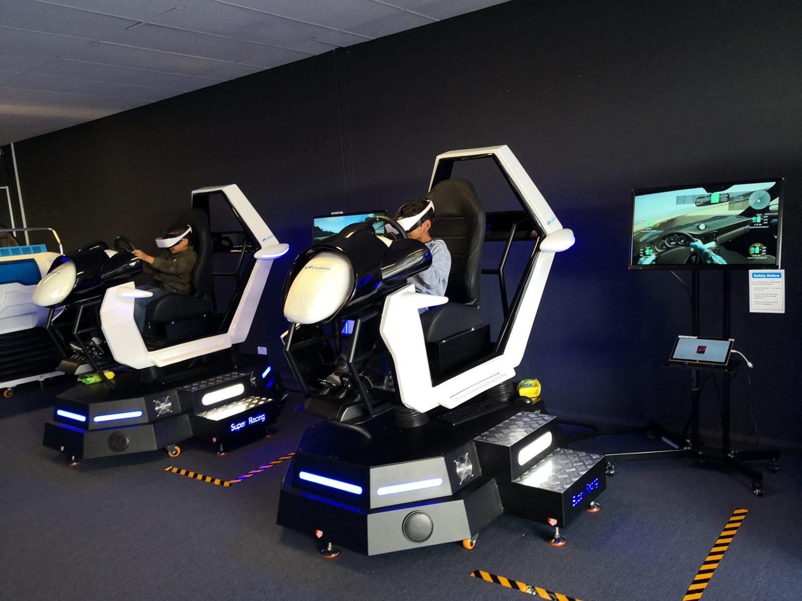 VR Car-Racing Machines