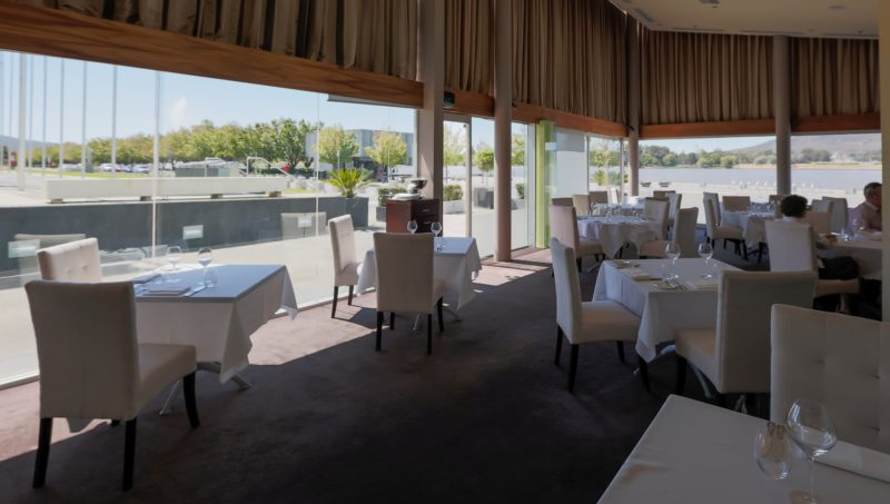 Water's Edge interior with views over Lake Burley Griffin