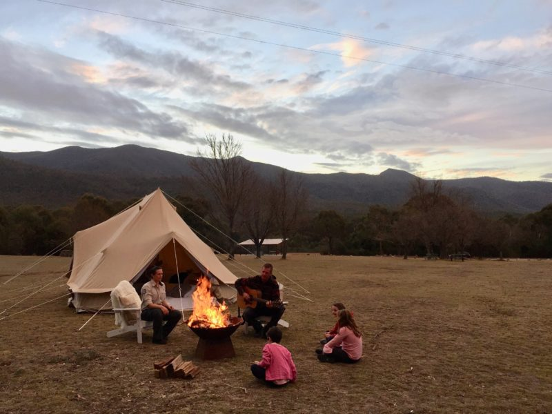 Camp Site Tidbinbilla