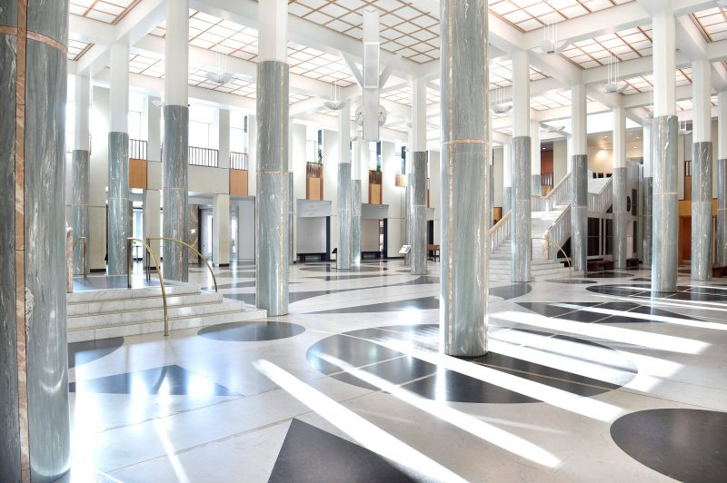 Marble Foyer inside Parliament House