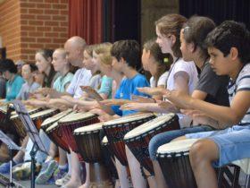 Drumming Class 2017