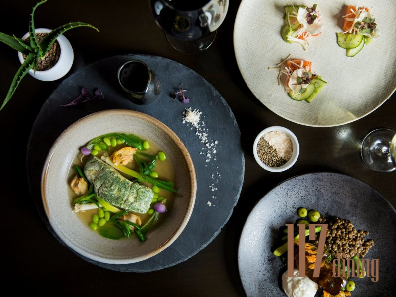 Award-winning signature dining at 117 dining