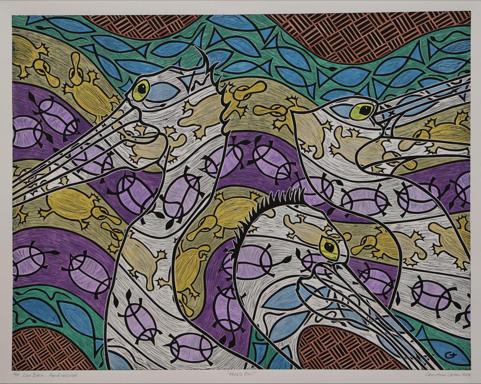 detail of original artwork