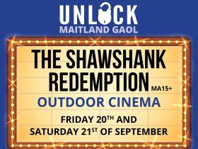 Maitland Gaol - Shawshank Redemption Outdoor Cinema